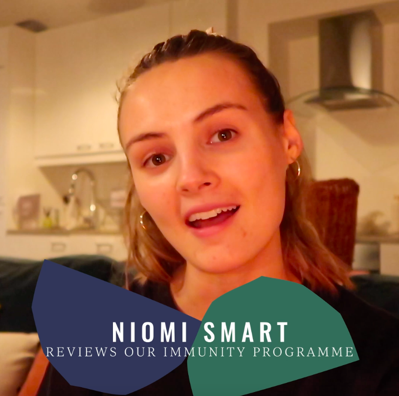 Niomi Smart trials our Immunity Programme